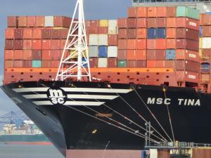 Photo of MSC TINA ship