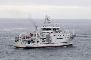 Photo of DR. FRIDTJOF NANSEN ship