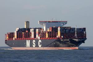 Photo of MSC MIRJAM ship
