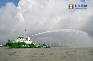 Photo of QESS USV 2 ship