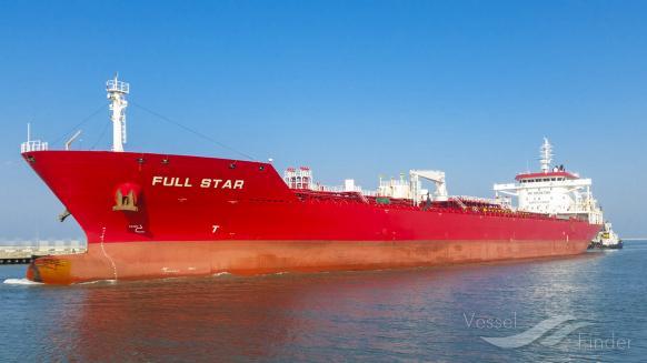 FULL STAR (MMSI: 477948300) ; Place: Marina di Ravenna