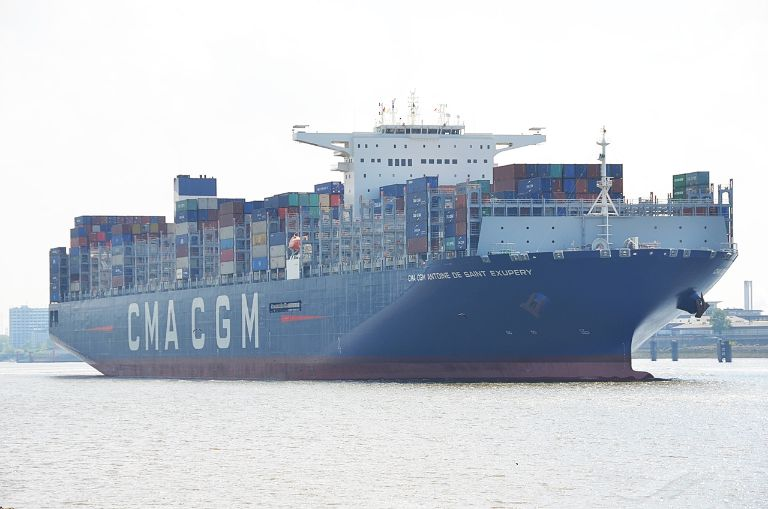 CMA CGM ST EXUPERY, Container Ship - Details and current