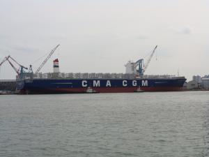 Photo of CMA CGM A. LINCOLN ship