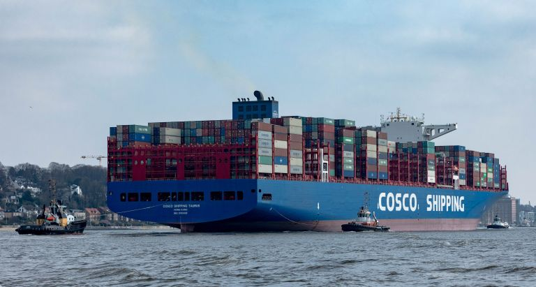 COSCO TAURUS, Container Ship - Details and current position