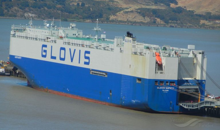 GLOVIS SAFETY, Vehicles Carrier - Details and current position - IMO