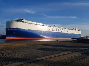 Photo of GLOVIS SKY ship