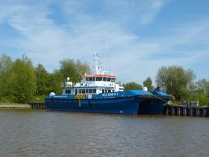 Photo of MCS SWATH 1 ship