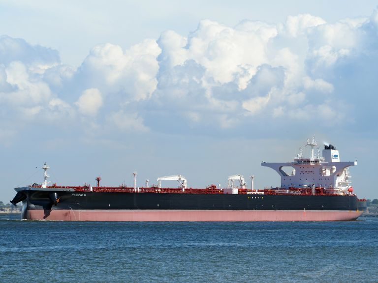 PACIFIC M, Crude Oil Tanker - Details and current position