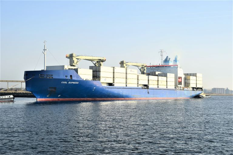 COOL EXPRESS, Refrigerated Cargo Ship - Details and current position